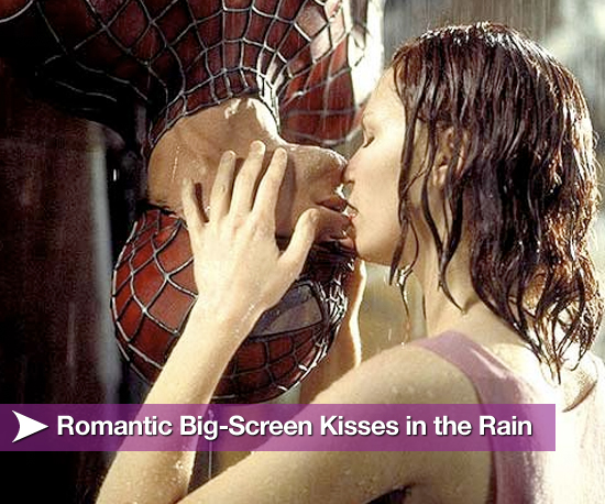 kissing in rain. Movie Kisses in the Rain